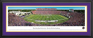 East Carolina University Dowdy-Ficklen Stadium Deluxe Framed Picture