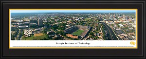 Georgia Institute of Technology Bobby Dodd Stadium Deluxe Framed Picture
