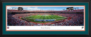 Miami Dolphins Deluxe Framed Picture
