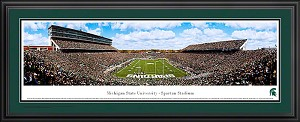 Michigan State University Spartan Stadium Deluxe Framed Picture 2