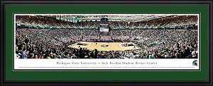 Michigan State University Jack Breslin Student Events Center Deluxe Framed Picture 4