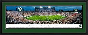 Michigan State University Spartan Stadium Deluxe Framed Picture 5