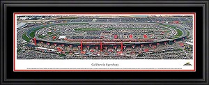 California Speedway Deluxe Framed Picture