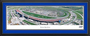 Kansas Speedway Deluxe Framed Picture