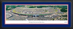 Michigan International Speedway Deluxe Framed Picture