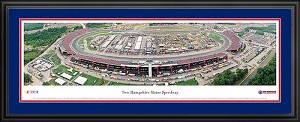 New Hampshire Motor Speedway Deluxe Framed Picture
