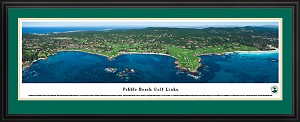 Pebble Beach Deluxe Framed Picture 2