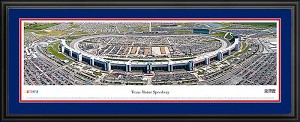 Texas Motor Speedway Deluxe Framed Picture