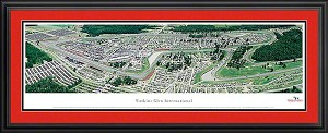 Watkins Glen International Deluxe Framed Picture