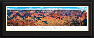 Grand Canyon, Arizona National Park Deluxe Framed Skyline Picture