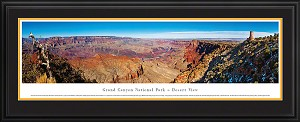 Grand Canyon, Arizona National Park Deluxe Framed Skyline Picture 3