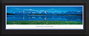 Grand Teton National Park Deluxe Framed Skyline Picture
