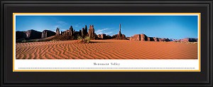 Monument Valley Deluxe Framed Skyline Picture