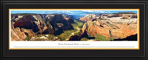 Zion National Park Deluxe Framed Skyline Picture 2