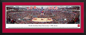 North Carolina State University PNC Stadium Deluxe Framed Picture