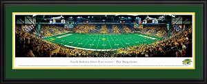 North Dakota State University Fargodome Deluxe Framed Picture