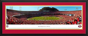 San Francisco 49ers Candlestick Park Deluxe Framed Picture 2