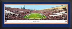 Chicago Bears Soldier Field Deluxe Framed Picture