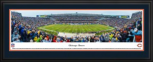 Chicago Bears Soldier Field Deluxe Framed Picture 3