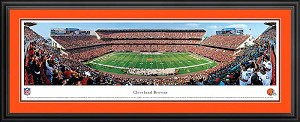 Cleveland Browns Deluxe Framed Picture