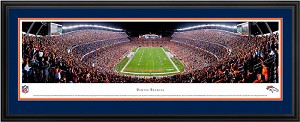 Denver Broncos Deluxe Framed Picture 2