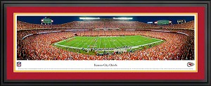 Kansas City Chiefs Deluxe Framed Picture