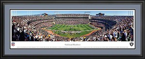 Oakland Raiders Deluxe Framed Picture