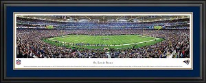 St. Louis Rams Deluxe Framed Picture