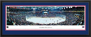 Columbus Blue Jackets Nationwide Arena Deluxe Framed Picture