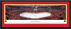 Chicago Blackhawks United Center Deluxe Framed Picture
