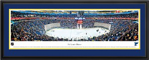 St. Louis Blues Scottrade Center Deluxe Framed Picture