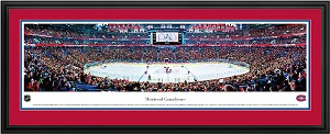 Montreal Canadiens Centre Bell Deluxe Framed Picture