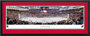 New Jersey Devils Prudential Center Deluxe Framed Picture