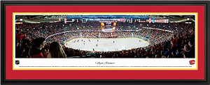 Calgary Flames Scotiabank Saddledome Deluxe Framed Picture