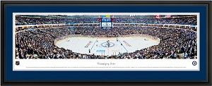 Winnipeg Jets MTS Center Deluxe Framed Picture