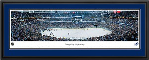 Tampa Bay Lightning St. Pete Times Forum Deluxe Framed Picture
