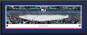 Edmonton Oilers Rexall Place Deluxe Framed Picture