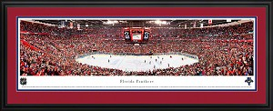 Florida Panthers Bank Atlantic Center Deluxe Framed Picture