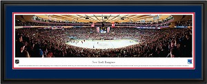 New York Rangers Madison Square Gardens Deluxe Framed Picture