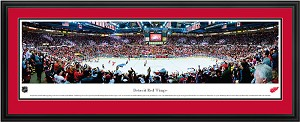 Detroit Red Wings Joe Louis Arena Deluxe Framed Picture