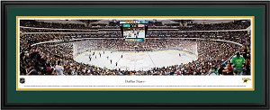 Dallas Stars American Airlines Center Deluxe Framed Picture
