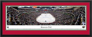 Minnesota Wild Xcel Energy Center Deluxe Framed Picture 2