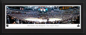 Los Angeles Kings Stanley Cup Champions Deluxe Framed Picture