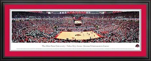 Ohio State University Jerome Schottenstein Center Value City Arena Deluxe Framed Picture