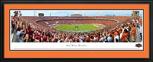 University of Texas Red River Rivalry Deluxe Framed Picture 2