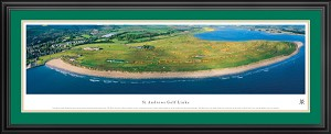 St. Andrews Links Deluxe Framed Picture 2