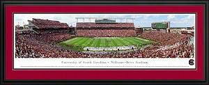 University of South Carolina Williams-Brice Stadium Deluxe Framed Picture 4