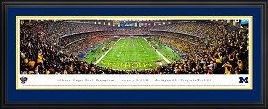 2012 Sugar Bowl Louisiana Superdome Deluxe Framed Picture