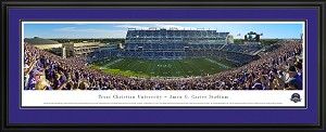 Texas Christian University Amon G. Carter Stadium Deluxe Frame 2