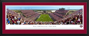 Texas A&M University Kyle Field Deluxe Framed Picture 2